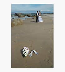 Beach bouquet Photographic Print