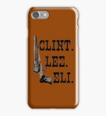 Clint Lee Eli iPhone Case/Skin