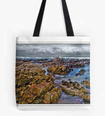 Low tide on the Rocks Tote Bag