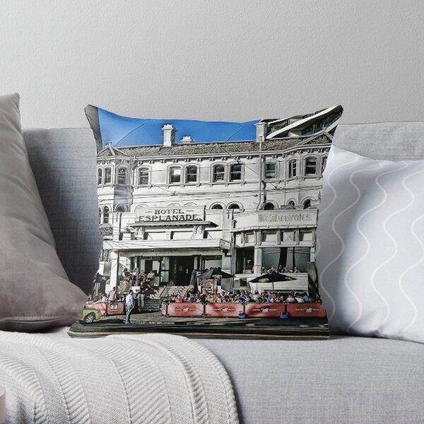 The Espy, St Kilda Throw Pillow