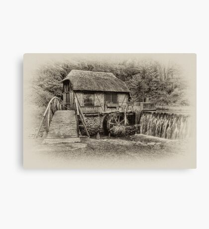 Gomez Mill / Antique  Canvas Print