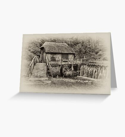 Gomez Mill / Antique  Greeting Card