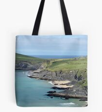 A Irish House On The Coast Tote Bag
