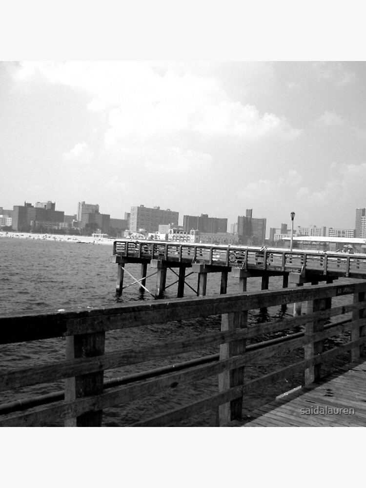 On the dock at Coney Island by saidalauren