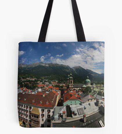 Postcard from Innsbruck Tote Bag