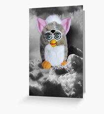 ❀◕‿◕❀FERBY IN CLOUDS COMING TO MAKE A HOME ON EARTH CARD/PICITURE❀◕‿◕❀ Greeting Card
