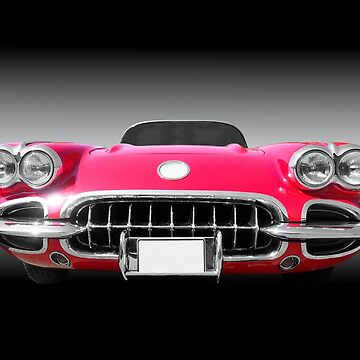 1958 Chevy Convertible C1 US American roadster classic car by BeateG
