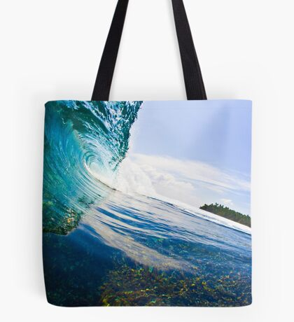 Glass Cavern Tote Bag