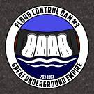 «Presa de control de inundaciones # 3» de AngryMongo