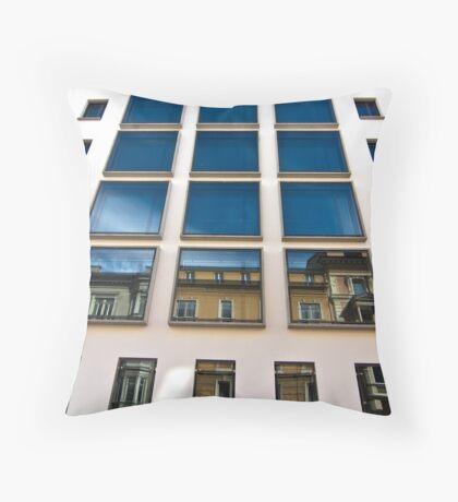 Blue Reflection Throw Pillow