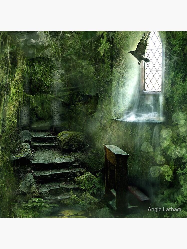 The Chapel in the Woods by AngelaBarnett