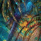Light Filled, Sun Chilled, Blue Parrot by Alma Lee by Alma Lee