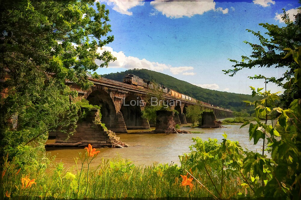 Crossing the Susquehanna by Lois  Bryan