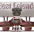 Best Friends by Wilfried van Dokkumburg