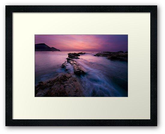 Romantic Sunset at Crackingtom Haven by Matt Stansfield