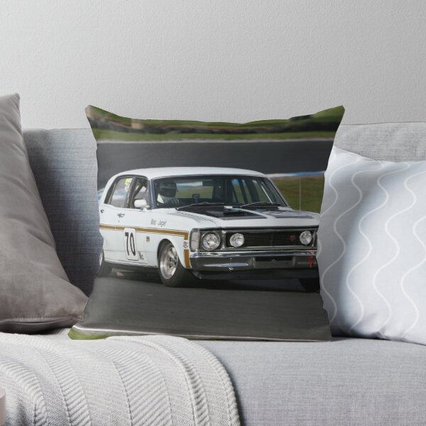 XW GT Falcon Throw Pillow