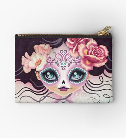 Camila Huesitos - Sugar Skull Zipper Pouch