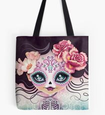 Camila Huesitos - Sugar Skull Tote Bag