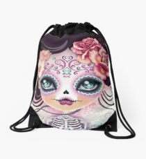 Camila Huesitos - Sugar Skull Drawstring Bag