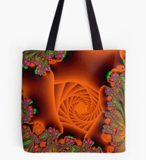 Blooming in a cave Tote Bag