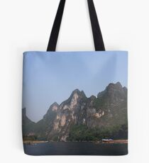 Karst mountains of Yangshuo Tote Bag