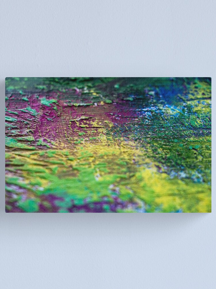Alternate view of Distorted Luxury Canvas Print