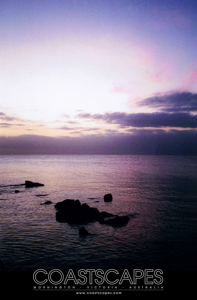 Dusk Dreaming Purple Sea Sunset Photograph by Margaret Woodlock-McLean