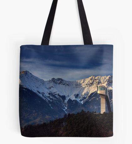 Mountain Architecture Tote Bag