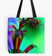 Fractal Cactus Tote Bag