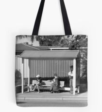 Synchronized Bus Watch. Tote Bag