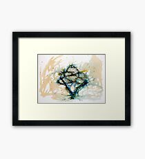 Our entwined hearts Framed Print