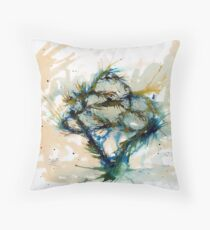 Our entwined hearts Throw Pillow