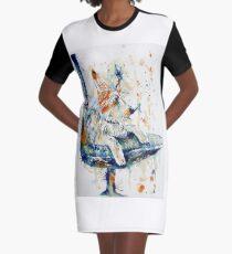 The Watchdog Graphic T-Shirt Dress