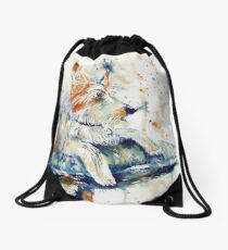 The Watchdog Drawstring Bag