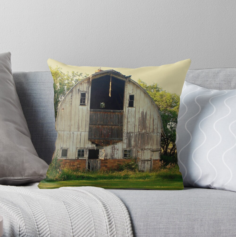 Age of the Heart Throw Pillow