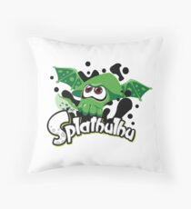 Splathulhu Throw Pillow