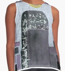 Yesterday, when we were gold.  Sleeveless Top