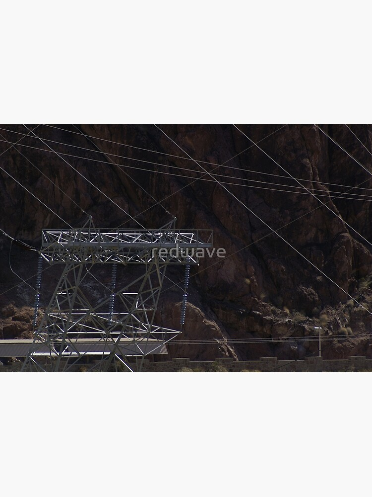 Hoover Dam Electricity by redwave