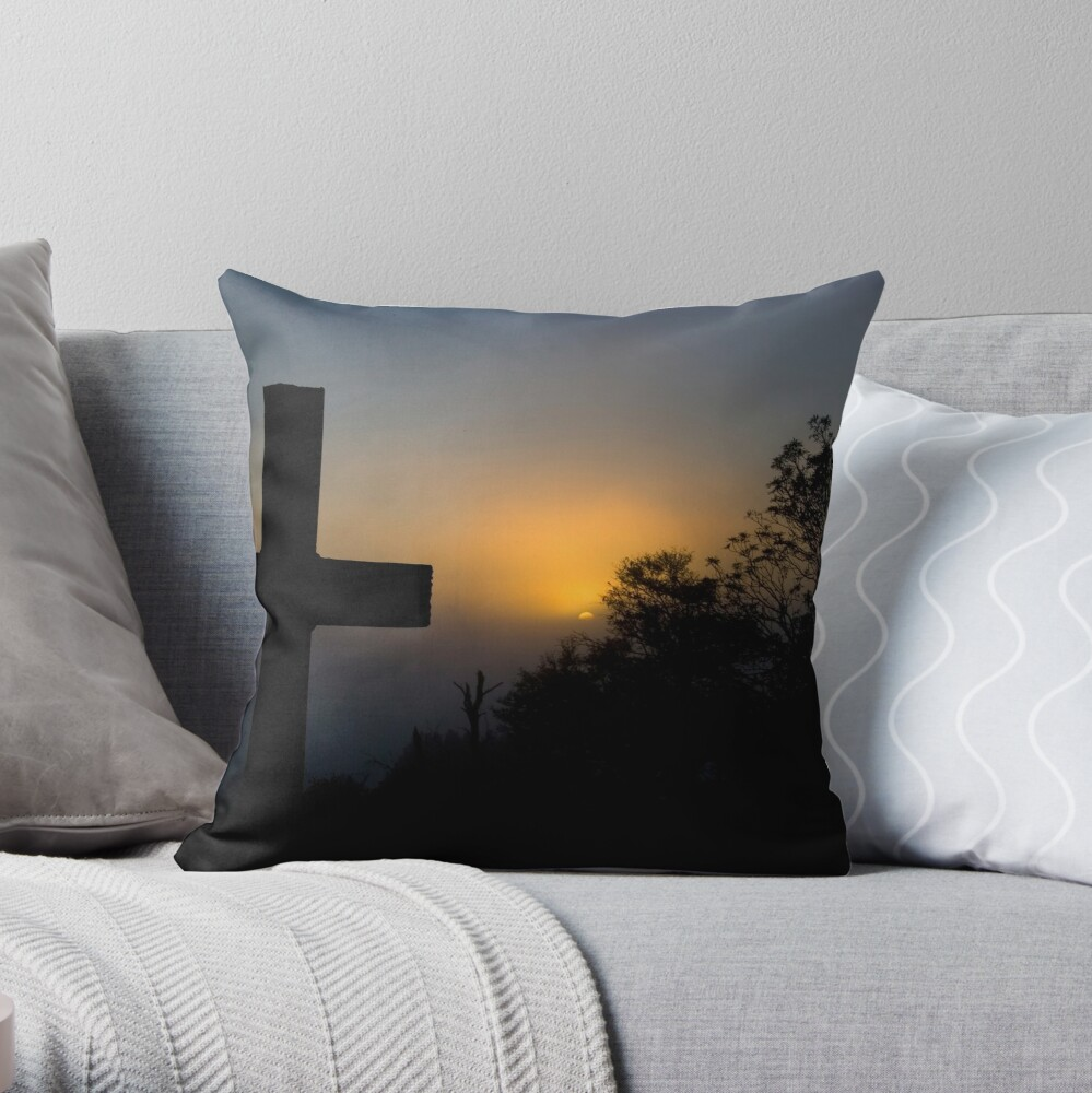 Bexhill Sunrise Throw Pillow