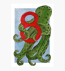 Number 8  Photographic Print