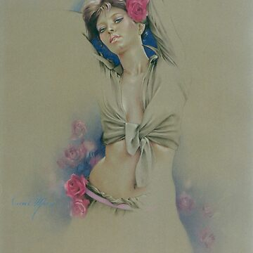"""Rose"" in Colour Pencil by sara-moon"
