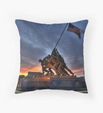 US Marine Corps Memorial Dekokissen