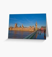 The Parliament of the United Kingdom Greeting Card