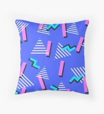 Retro x 2 Throw Pillow