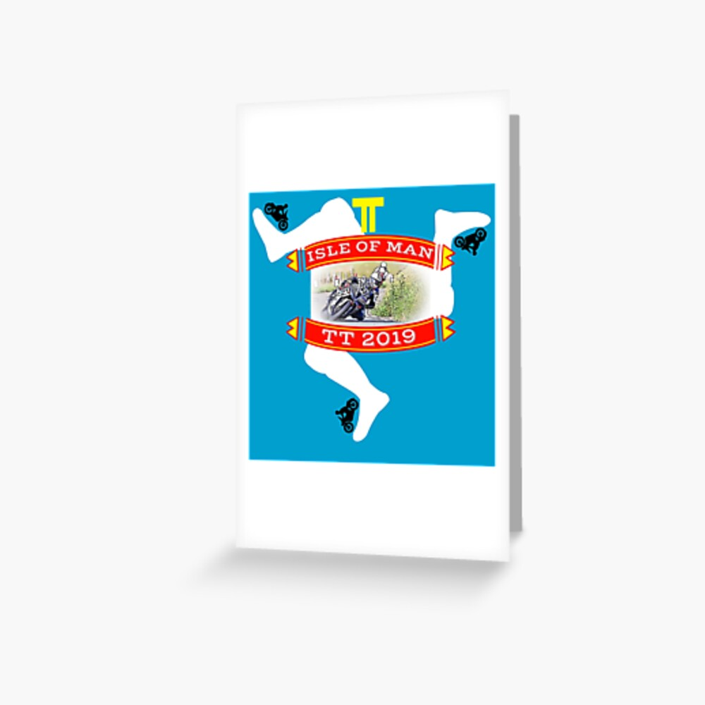 TT Isle of Man Greeting Card