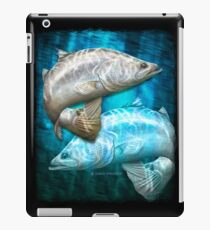 Cruising Chrome - barramundi iPad Case/Skin