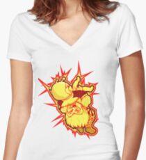 SUPLEX! Women's Fitted V-Neck T-Shirt