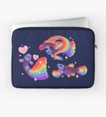 Regenbogen-Guppy 5 Laptoptasche
