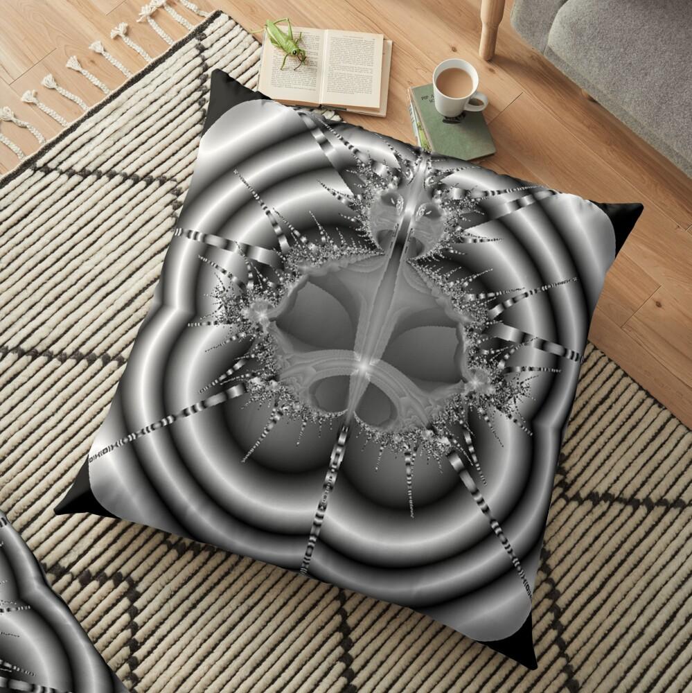 Bull Floor Pillow