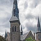 First Presbyterian Church, Brockville. 1879. by Mike Oxley